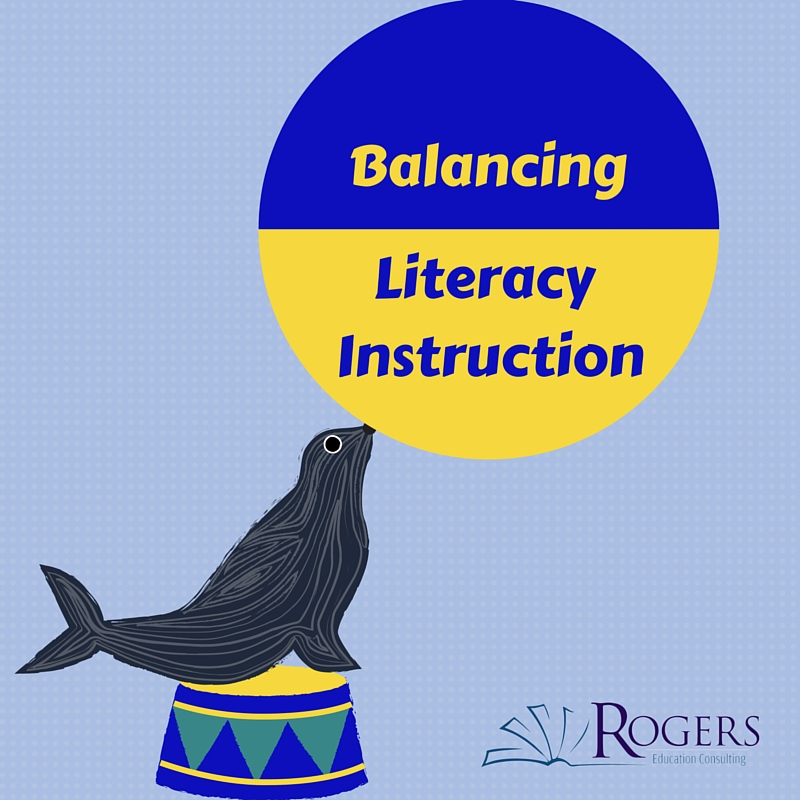 Balancing Literacy Instruction Part One Challenging Text Vs