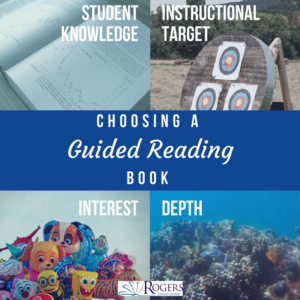 choosing a guided reading book